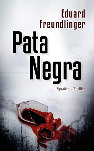Pata Negra - Buchcover eines Thrillers