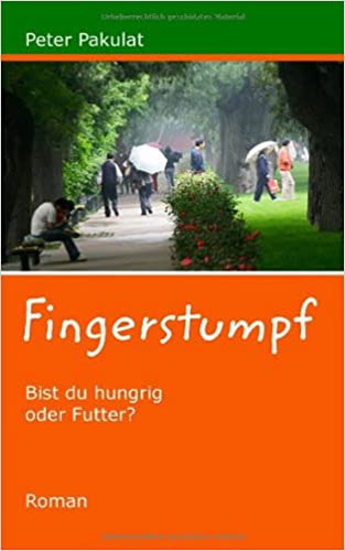Fingerstumpf - Buchcover Belletristik