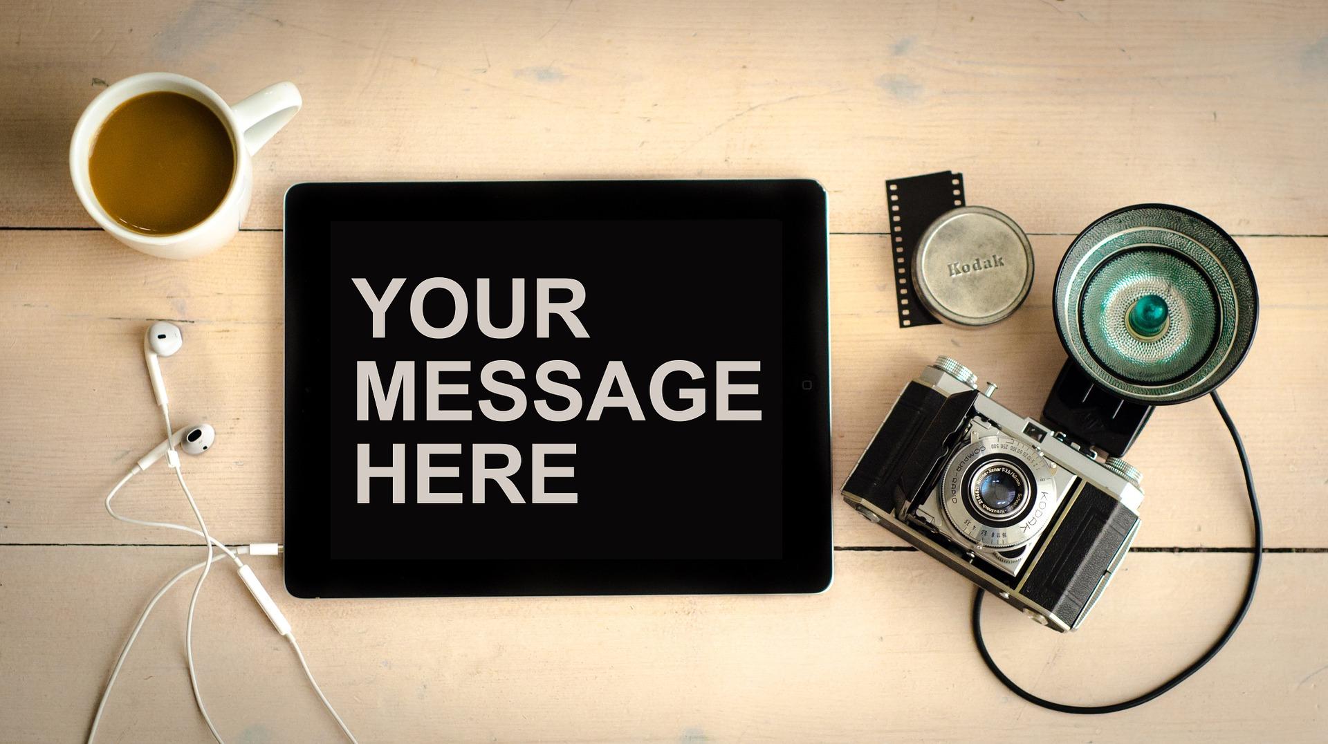 Aufforderung zum Senden eines Kontaktformulars