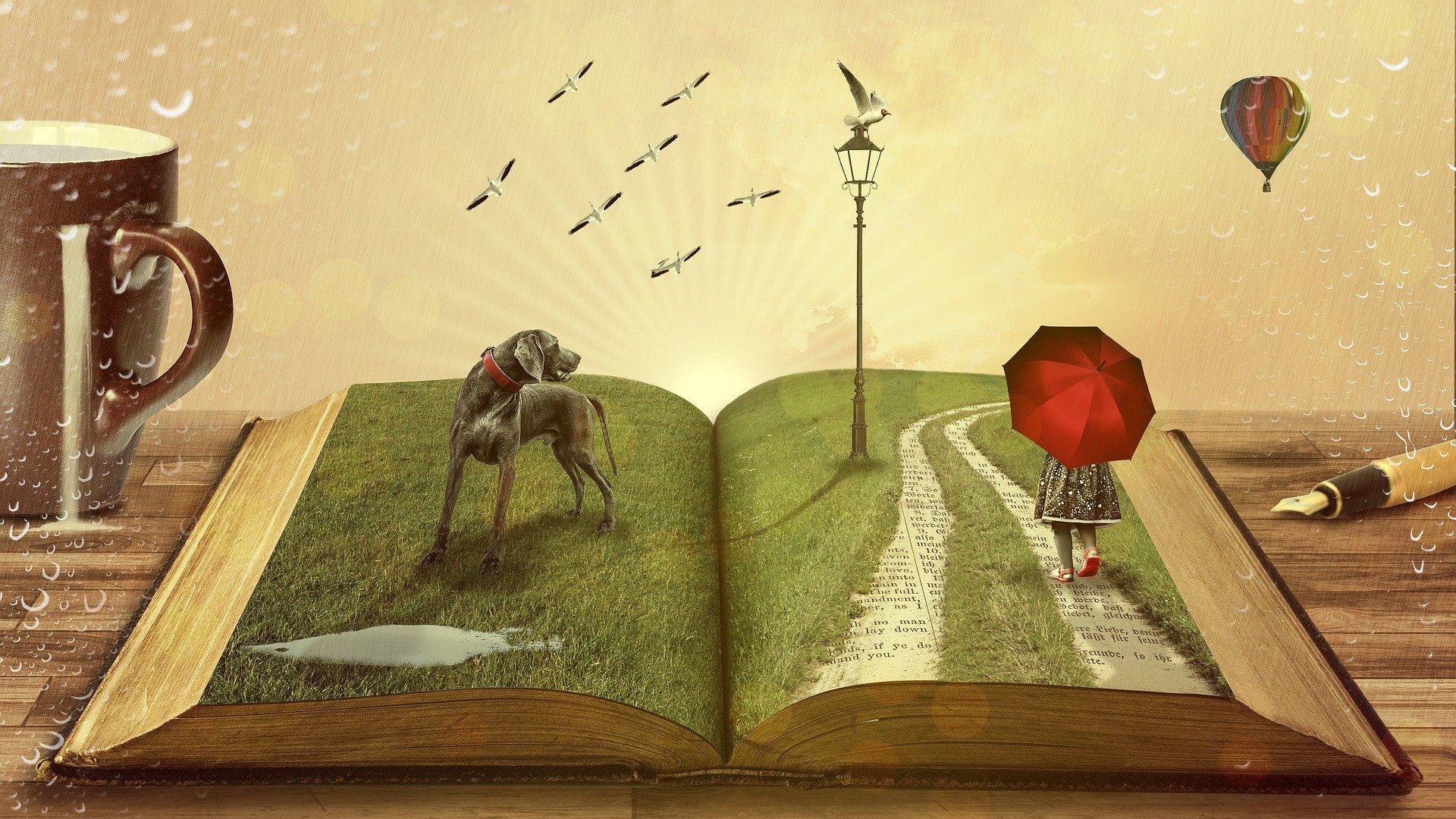 Roman erwacht zum Leben
